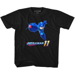 Image for Megaman Mega 11 Youth T-Shirt