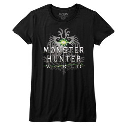 Image for Monster Hunter Girls T-Shirt - MHW Logo