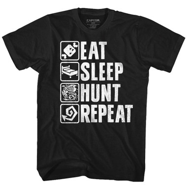 Image for Monster Hunter Hunt Repeat T-Shirt