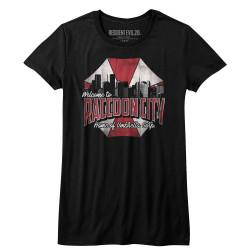 Image for Resident Evil Girls T-Shirt - Racoon City