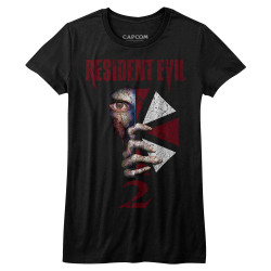 Image for Resident Evil Girls T-Shirt - RE2 Cover