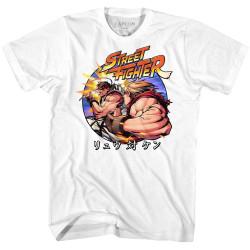 Image for Street Fighter Ryu v Ken T-Shirt