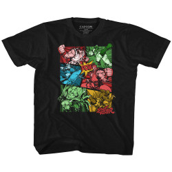Image for Street Fighter Comic Youth T-Shirt