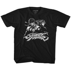 Image for Street Fighter Two Dudes Youth T-Shirt