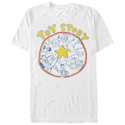 Image for Toy Story T-Shirt - Circle