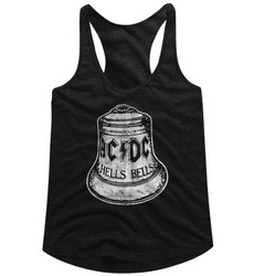Image for AC/DC Hells Bells Classic Juniors Racerback Tank Top