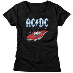 Image for AC/DC Girls T-Shirt - Razors Edge Classic