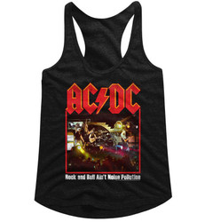 Image for AC/DC Noise Pollution 2 Classic Juniors Racerback Tank Top