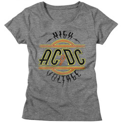 Image for AC/DC Girls T-Shirt - High Voltage Classic