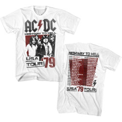 Image for AC/DC T-Shirt - Highway to Hell Tour '79 Classic