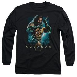 Image for Aquaman Movie Long Sleeve Shirt - Trident