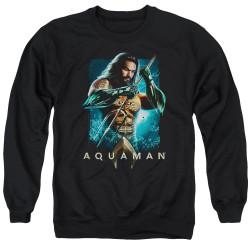 Image for Aquaman Movie Crewneck - Trident