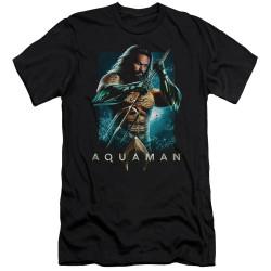 Image for Aquaman Movie Premium Canvas Premium Shirt - Trident