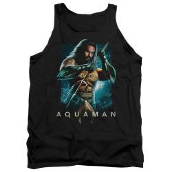 Image for Aquaman Movie Tank Top - Trident