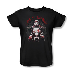 Image for Sons of Anarchy Woman's T-Shirt - Jax Ride
