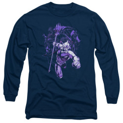 Image for Aquaman Movie Long Sleeve Shirt - Evil Doers