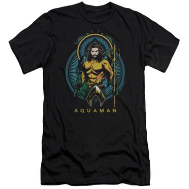 Image for Aquaman Movie Premium Canvas Premium Shirt - Aqua Nouveau