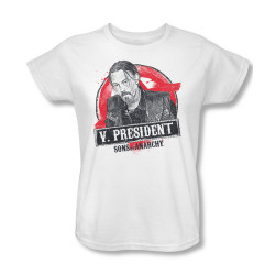 Image for Sons of Anarchy Woman's T-Shirt - Vice President