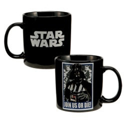 Image for Star Wars Darth Vader Join Us or Die Coffee Mug