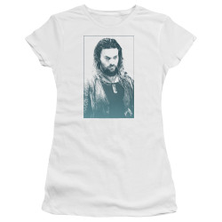 Image for Aquaman Movie Girls T-Shirt - Salt of the Sea