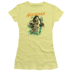 Image for Aquaman Movie Girls T-Shirt - Locals Only