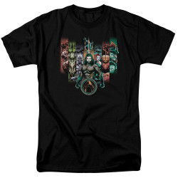 Image for Aquaman Movie T-Shirt - Unite the Kingdoms
