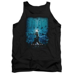 Image for Aquaman Movie Tank Top - Poster
