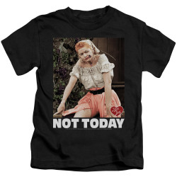 Image for I Love Lucy Kids T-Shirt - Not Today