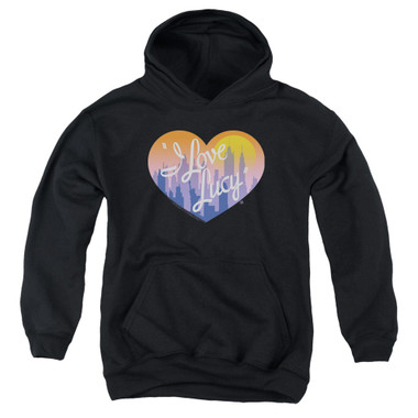 Image for I Love Lucy Youth Hoodie - Heart of the City