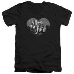 Image for I Love Lucy T-Shirt - V Neck - Nostalgic City