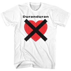Image for Duran Duran T-Shirt - Heart X