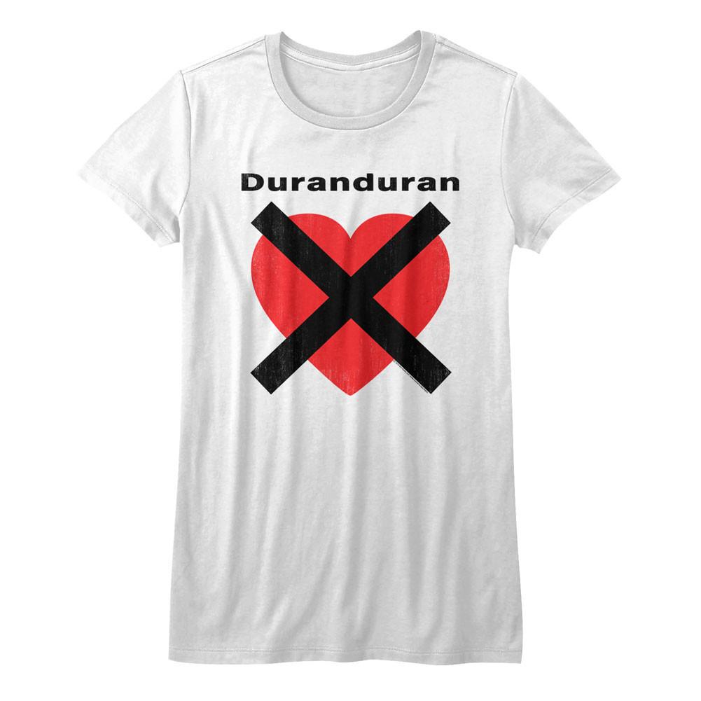 9d2095448 Duran Duran Girls T-Shirt - Heart X - NerdKungFu