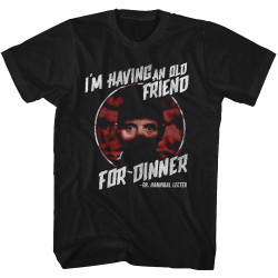 Image for Silence of the Lambs Friend for Dinner T-Shirt