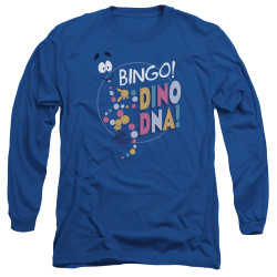 Image for Jurassic Park Long Sleeve Shirt - Bingo Dino DNA