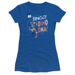 Image for Jurassic Park Girls T-Shirt - Bingo Dino DNA