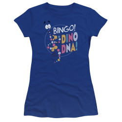 Image for Jurassic Park Juniors Premium Bella T-Shirt - Bingo Dino DNA