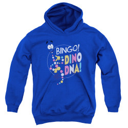 Image for Jurassic Park Youth Hoodie - Bingo Dino DNA