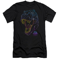 Image for Jurassic Park Premium Canvas Premium Shirt - Neon T-Rex
