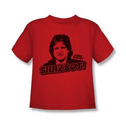 Image for Mork & Mindy Kids T-Shirt - Shazbot!