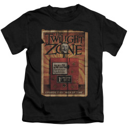 Image for The Twilight Zone Kids T-Shirt - Seer