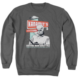 Image for The Twilight Zone Crewneck - Kanamits Diner