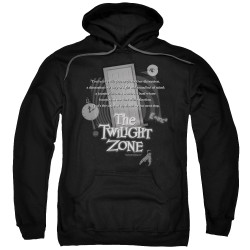 Image for The Twilight Zone Hoodie - Monologue