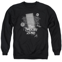 Image for The Twilight Zone Crewneck - Monologue