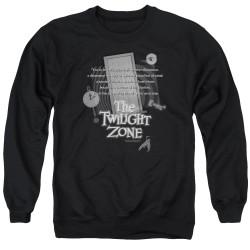 Image for The Twilight Zone Crewneck - Monologue