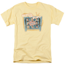 Image for The Brady Bunch T-Shirt - Here's the Story