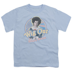 Image for The Brady Bunch Youth T-Shirt - Wig Out