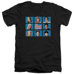 Image for The Brady Bunch T-Shirt - V Neck - Framed