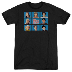 Image for The Brady Bunch Ringer - Framed