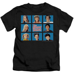 Image for The Brady Bunch Kids T-Shirt - Framed