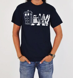 Image for Doctor Who T-Shirt - Villain Street Crowd